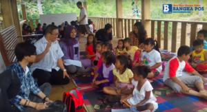 Keceriaan Anak anak Saat Belajar di Rumah Inspirasi Buasan