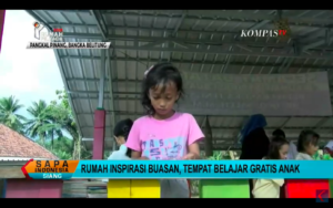 Rumah Inspirasi Buasan, Tempat Belajar Gratis Anak